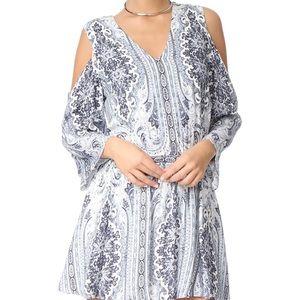 alice + olivia 'Jolene' Cold Shoulder Dress size 4